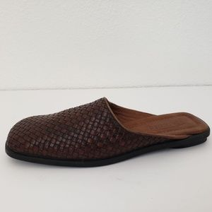 Shoes - Talbot Leather Slip on Shoes
